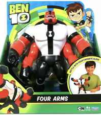 Playmates Toys Cartoon Network Ben 10 Battle With Your Favorite Alien Four Arms