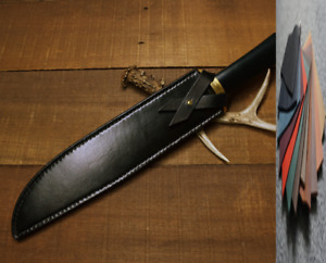 fit for2.5x15cm Blade dagger knife bag scabbard sheath leather customize A1023