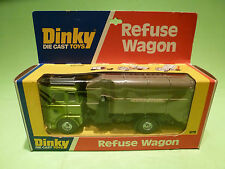 DINKY TOYS 978 REFUSE WAGON + EQUIPMENT - RARE SELTEN - GOOD CONDITION IN BOX
