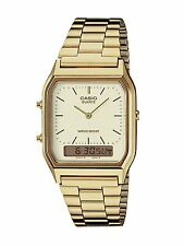 Casio Men's Digital And Analogue Watch, Gold, AQ-230GA-9DMQ
