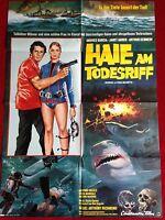 Haie am Todesriff Kinoplakat Poster A1, Janet Agren, Arthur Kennedy 1978
