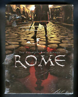 ROME - The Complete First Season DVD 6 Disc Set NEW ! HBO ! All 12 Episodes ! 🔥