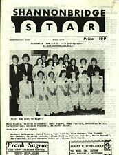 Shannonbridge Star newsletter 1979  news and stories plus ads, very good Offaly