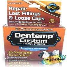 DENTEMP Custom fuerza máxima diente temporal Relleno & Fix Tapas Sueltas