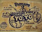 UNIQUE 1937 Advertising STRINGS Bag~