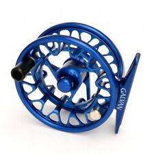 GALVAN BROOKIE B 2/3 ULTRA LIGHTWEIGHT LARGE ARBOR FLY REEL RARE CUSTOM BLUE