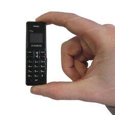 Zanco Fly Teléfono Negro-el cambiador de voz, más pequeña del mundo de teléfono, un 100% - Nuevo
