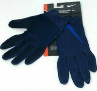 Nike Womens Mens Lightweight Rival 2.0 Large Run Gloves Binary Blue Royal NEW