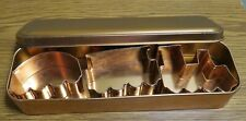 Train Cookie Cutter Set with Tin Copper-looking finish