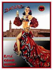 """24x30""""Poster Decor.Home Room design.Cuba esta como quiere.Conga girl.10584"""