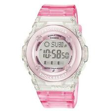 Casio Girls Ladies Baby-G  BG-1302-4ER PINK World Time Watch Brand NEW