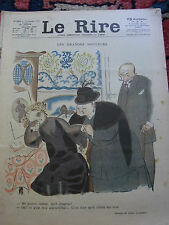 LE RIRE N°254 15 décembre 1923 couv LABORDE & DUPIN Old french lampoon paper