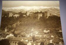 2 Photographies De GRENADE( Espagne) Vers 1880