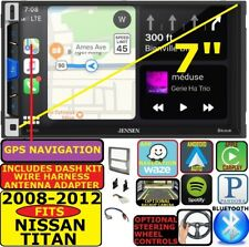 FOR NISSAN TITAN GPS NAV APPLE CARPLAY ANDROID AUTO BLUETOOTH CAR RADIO STEREO
