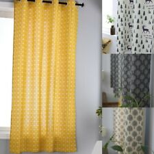 Boho Curtains Printed Window Curtain for Living Room Bedroom Drape Home Decor