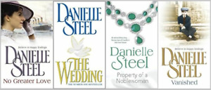 DANIELLE STEELE 4 BOOK SET VERY GOOD VANISHED