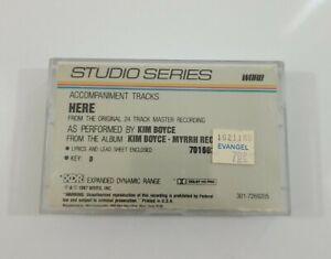 Karaoke - Kim Boyce Here Studio Series Cassette 1987 Word Inc