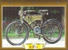 CARTE FICHE MOTO FN 1 HP 1/4 1902