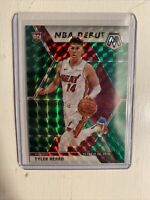Tyler Herro NBA Debut Mosaic Rookie Green Prizm