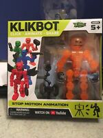 Stikbot Klikbot Animation Action Figure Monster Canon New Orange Stickbot