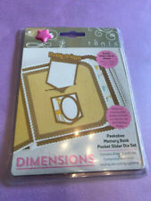 Tonic Studios - Dimensions - Peekaboo Memory Book Pocket Slider Die Set - 2506E