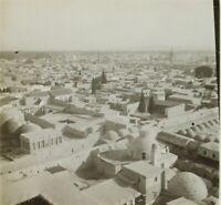 Moyen Orient Syrie Damas Photo Stereo Vintage Plaque Verre VR2L3n8