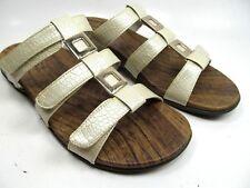 Orthaheel  Triple Strap Hook & Loop Slides Sandals Orthotic Shoes  Size 10