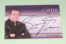 Castle Seasons 1 and 2 by Cryptozoic - Autograph Card A3 - Seamus Dever