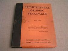 Architectural Graphic Standards - 1949 Illus. Building Construction Details Book