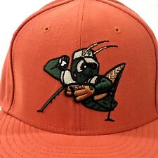 New listing Greensboro Grasshoppers MILB New Era Fitted Hat Size 7 1/4 Pittsburgh Pirates