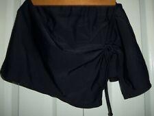 Ocean Dream Signature~ Women's~ Skirted Bikini Bottom~Size 12~ Black