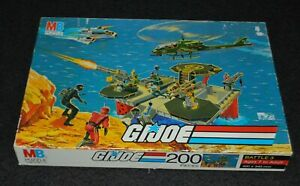 GI Joe Battle 3 Jigsaw Puzzle, 200 Pieces - Milton Bradley 1985
