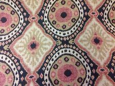 Kravet Couture Ethnic Ikat Kilim Upholstery Fabric Bursa Suzani/Saffron 10.25 yd