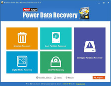 MiniTool Power Data Recovery 7 + Serial Key | Lost, deleted files recovery tool