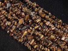 Gemstone Chips Tiger Eye 80cm Strand DIY Jewellery Jewelry Necklace POSTAGE
