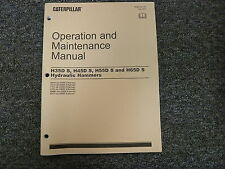 Caterpillar Cat H35Ds H45Ds H55Ds H65Ds Hydraulic Hammers Owner Operator Manual