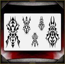 """Tribal 2"" Airbrush Stencil Template Airsick"