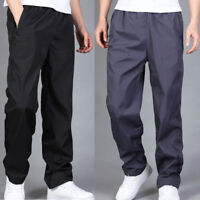 New Men's Loose Loungewear Pants Gym Casual Long Sports Fitness Trousers