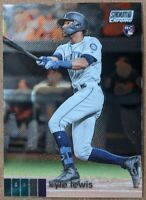 Kyle Lewis - Mariners MINT CHROME RC 🔥💎 2020 Topps Stadium Club Chrome #249