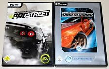 Need for speed-Pro Street & Underground - 2 PC juegos bundle