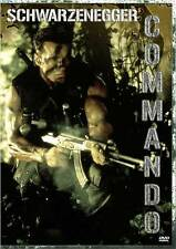 COMMANDO Movie POSTER 27x40 B Arnold Schwarzenegger Rae Dawn Chong Dan Hedaya