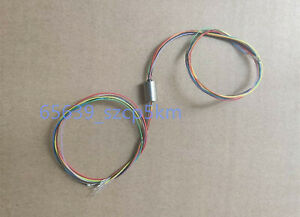 NEW Capsule Slip Ring 8 Circuits / Wires*1A 7.85mm Miniature Rotating Slip Ring