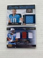 2009 2011 Titans Lot Ringer Donruss Rookie Gems #224 /25 Locker Panini /299 #14