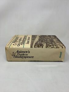 Asimov's Guide to Shakespeare By Isaac Asimov Avenel Books 1978 Hardcover