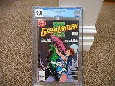 Green Lantern Corps 215 cgc 9.8 DC 1987 Salakk BLACK cover MINT WHITE pgs JLA