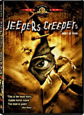 USED DVD - JEEPERS CREEPERS - HORROR - Gina Philips, Justin Long, Jonathan Breck
