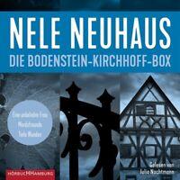 NELE NEWHAUS: DIE BODENSTEIN-KIRCHHOFF-BOX-NACHTMANN,JULIA HÖRBUCH 6 MP3 CD NEW