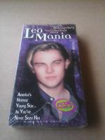 Leo Mania Leonardo Dicaprio's Unauthorized Story VHS 1998 Brand New Sealed RARE