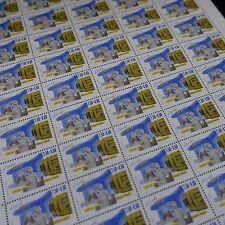 FEUILLE SHEET JOURNÉE DU TIMBRE MÉTIERS POSTE N°2743 x50 1992 NEUF ** LUXE MNH