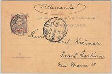 52111-portugal: Azores-HISTOIRE POSTALE-Papeterie Carte de Horta 1907